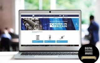 New E-Commerce Spring Website Shortlisted For Award