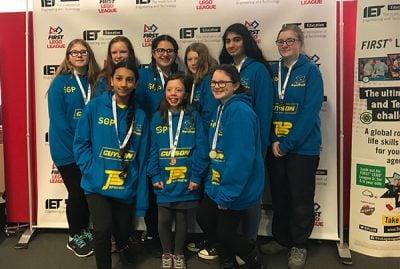 Skipton Girls High School UK Robotics Finals